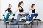 Jumping Fitness & Yoga (2x25 min)
